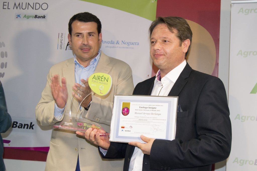 Manuel Arroyo, enólogo y Director General de Bodegas Símbolo.