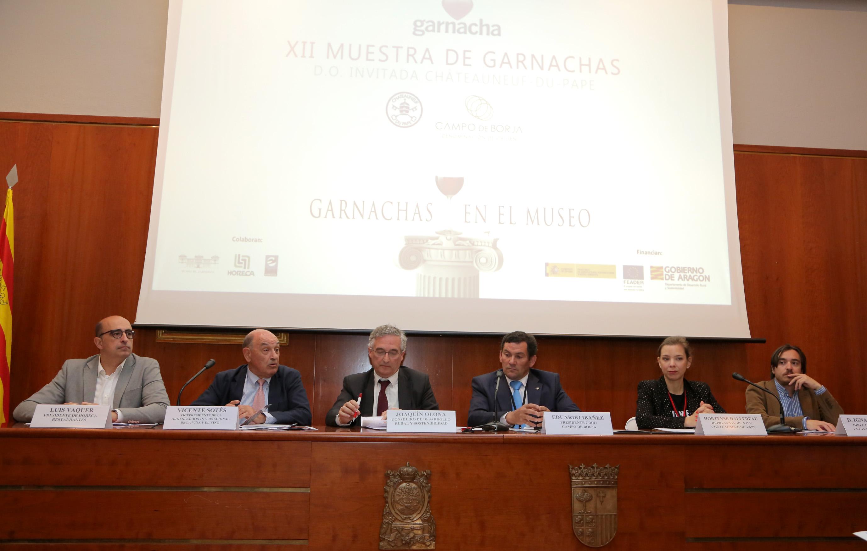 Autoridades en la conferencia de prensa
