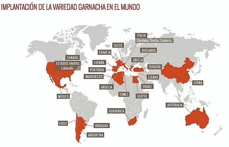 La Garnacha en el mundo
