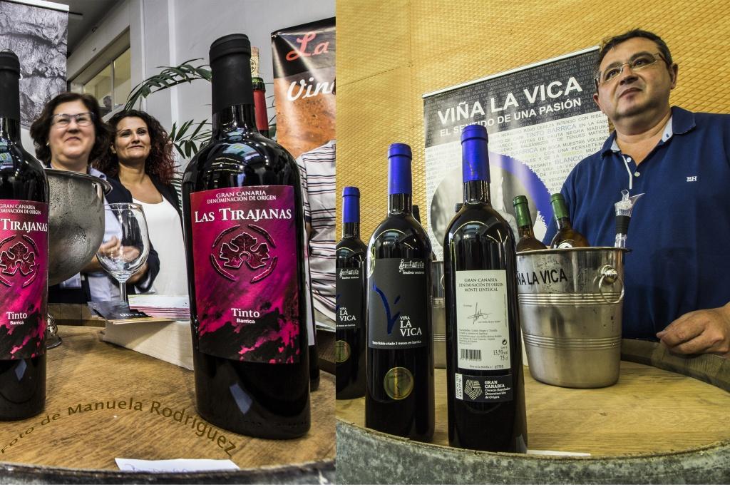 Presentación de los vinos de Gran Canaria